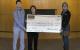 UCU Check Presentation for Community Cupboard - Augusta