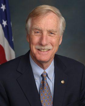 Senator King Official Portrait
