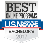 Best Online Programs US News and World Report Bachelor's 2017
