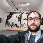 UMA Art student Luke Myers