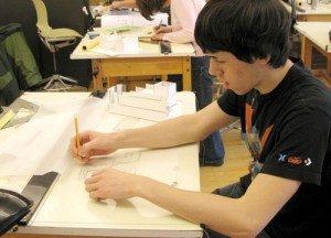 UMA Architecture Student Drafting