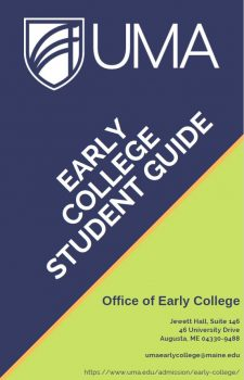A cover image of the UMA Early College Guide Book