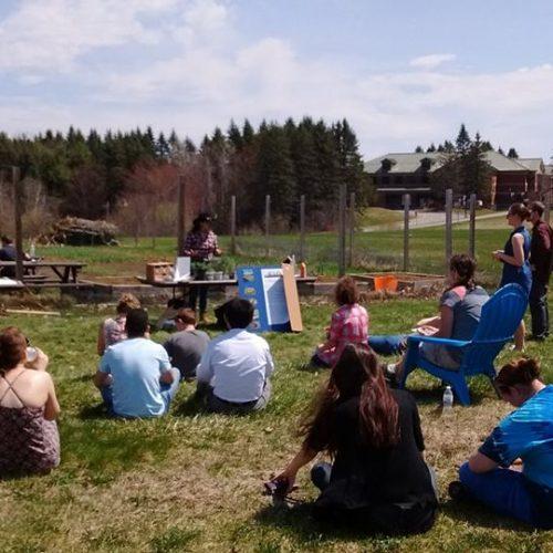 Augusta Community Garden Student Presentation Day, May 2 2018