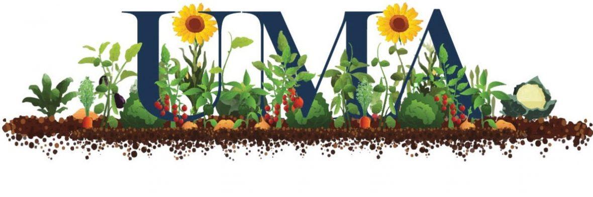 UMA Community Gardens Logo
