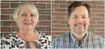 UC Welcomes Center Directors, Ann Delaney & James Bradley