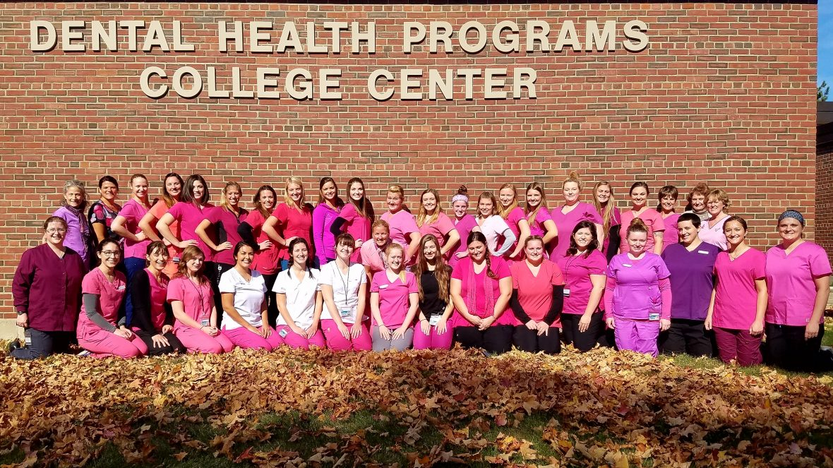 UMA Dental Hygiene Program supports Breast Cancer Awareness Month. Photo by Joleen Lee.