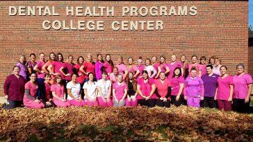 UMA Dental Hygiene Program Supports Breast Cancer Awareness Month
