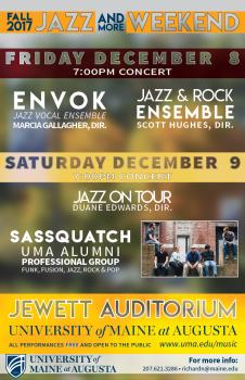 Jazz Weekend 11x17 Poster