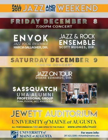 UMA to Live Stream Jazz (and more!) Weekend: Dec 8 & 9