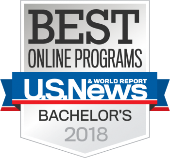 UMA voted Best Online Bachelor's Programs 2018 from U.S. News and World Report