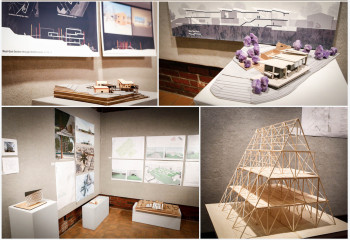 UMA 2018 Architecture Show at Danforth Gallery
