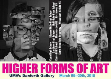 "Kennebec Valley Art Association and UMA Present ""Higher Forms of Art"" High School Exhibition"