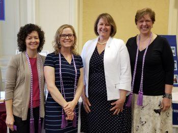In no particular order: Cynthia Kennard, Jennifer Cloukey, Karen Vanzura and Dr. Lynne King.