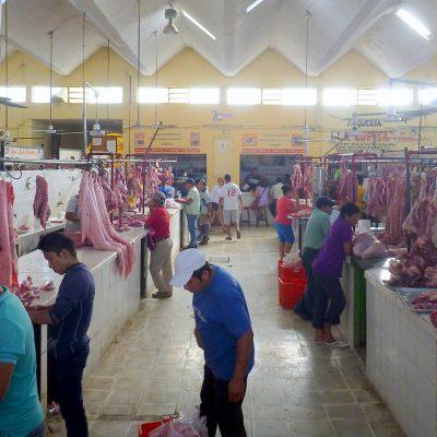 Meat market Valladolid