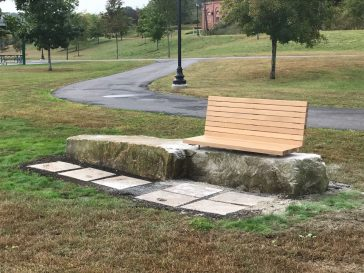 Architecture Students Work with City of Augusta to Design and Build Benches for Mill Park