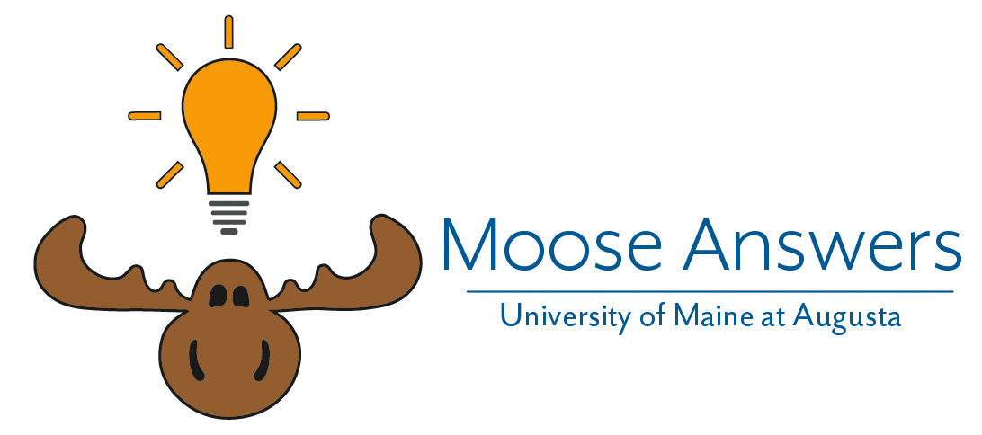 UMA Moose Answers Q&A Logo (horizontal)