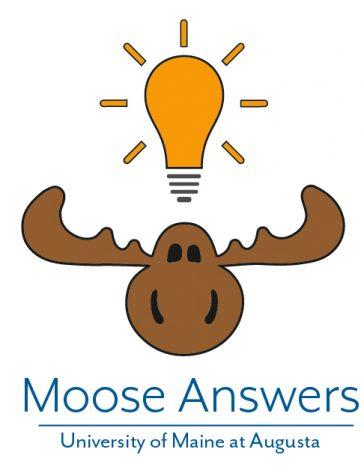 UMA Moose Answers Q&A Logo (vertical)