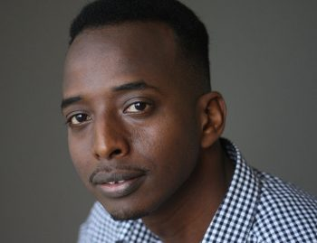 Image of Abdi Nor Iftin, photo copyright by Michael Lionstar.