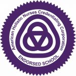 American Holistic Nurses Credentialing Corporation (AHNCC) Endorsed School Seal