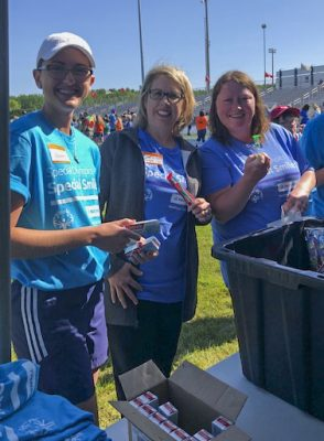 UMA Dental Hygiene students and faculty attended Maine's Special Olympics