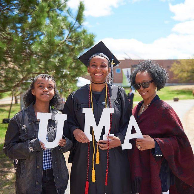 UMA Grad and Family