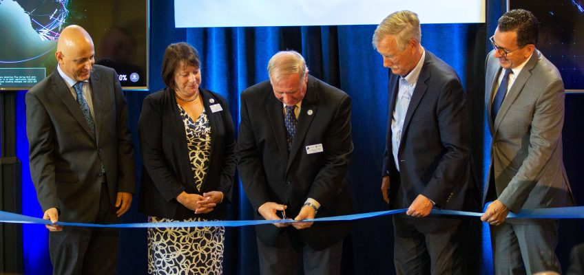 UMA Maine Cyber Range ribbon cutting ceremony