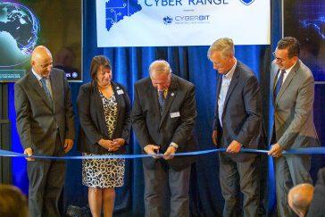 UMA Maine Cyber Range ribbon cutting ceremony