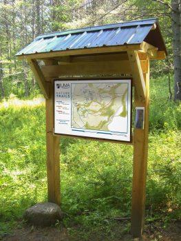 New Nature Trails Kiosk