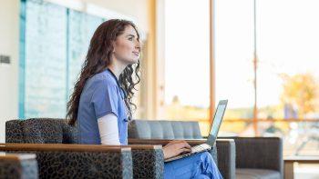 UMA nursing student registers for spring courses