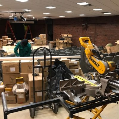 Jewett Hall Renovation Progress
