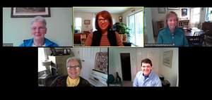 Zoom staff meeting screenshot
