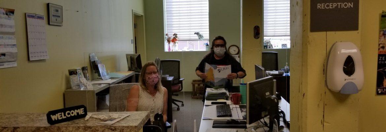 Rumford center front desk