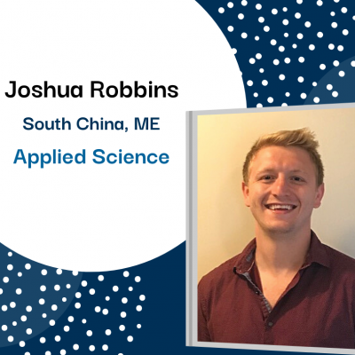 Joshua Robbins of South China, Applied Science.