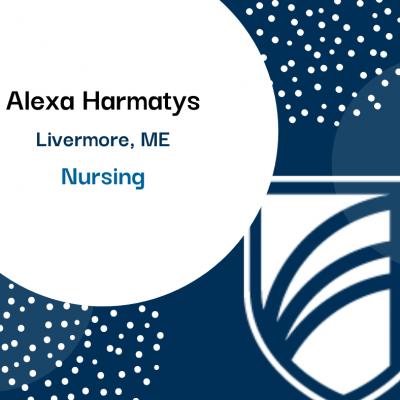 Alexa Harmatys of Livermore - Nursing.