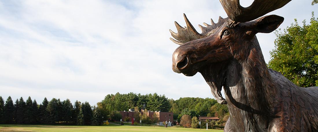 UMA Moose Statue